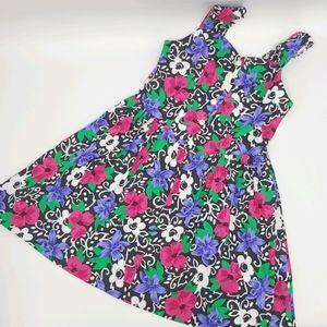 Vintage Encore 100% Cotton Floral Dress
